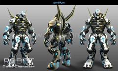 3D Robot Game Character Modeling San Diego, USA
