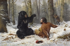 A Tight Fix—Bear Hunting, Early Winter [The Life of a Hunter: A Tight Fix]