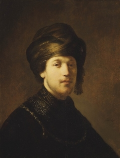 A Young Man Wearing a Turban