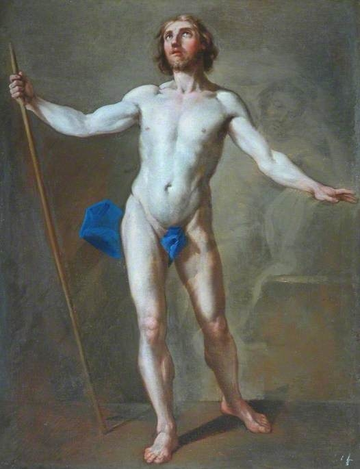 Academic Study of a Standing Male Figure