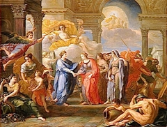 Allégorie de l'alliance du dauphin de France avec Marie-Anne-Victoire de Bavière