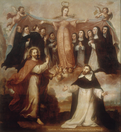Allegory of the Virgin Patroness of the Dominicans