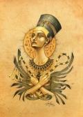 Ancient memories. Nefertiti.