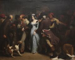 Arrestation de Charlotte Corday en 1793