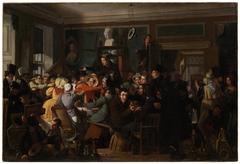 Auction Scene