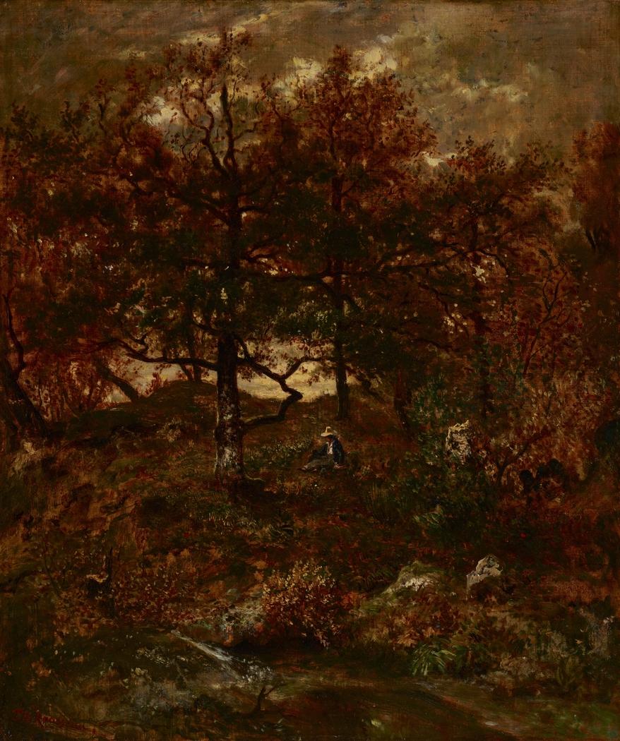 Autumn at St. Jean de Paris, Forest of Fontainebleau