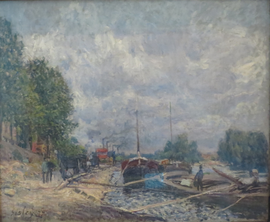 Barges at Billancourt
