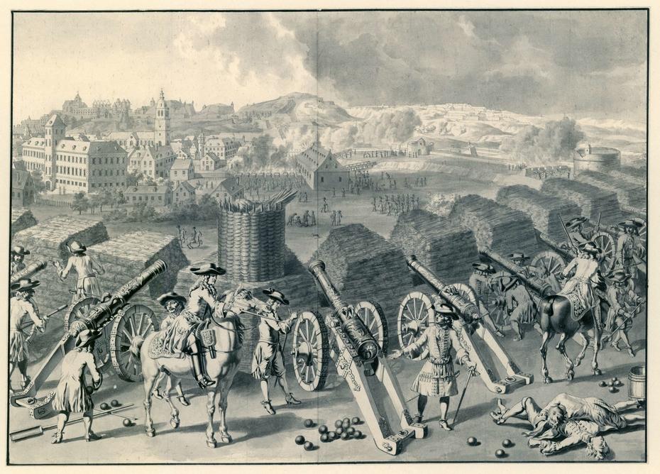 Beleg van Namen, 1695