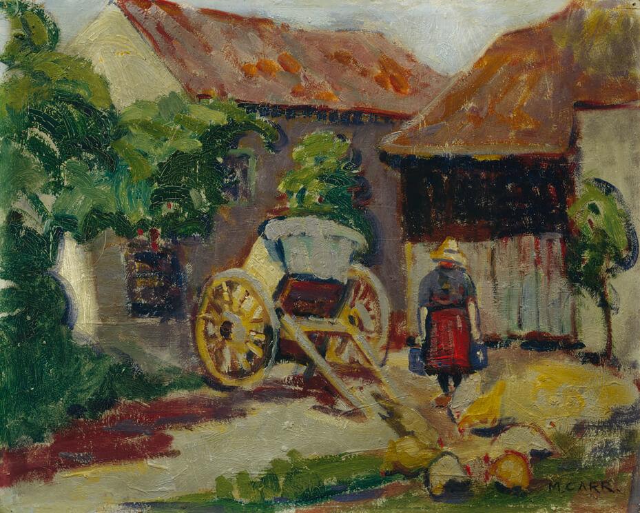 Breton Farm Yard