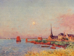 Breton Village by the Sea