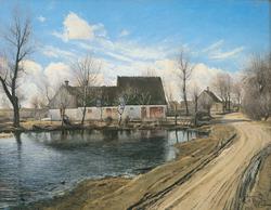 By the Village Pond at Baldersbrønde