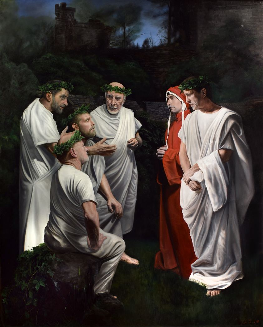 Canto 4: Dante and Virgil Visit the Great Poets of Antiquity