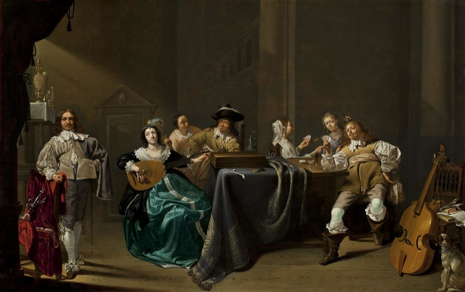 Card Players and Merrymakers
