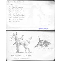 Carnet Bleu: Encyclopedia of…shark, vol.I p03  - by Pascal