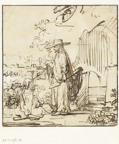 Christus verschijnt als tuinman aan Maria Magdalena
