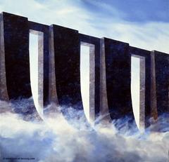 CITE DES RUNES/LE RESERVOIR DE NUAGES - City of runes: Clouds Tank- by Pascal