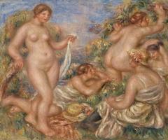 Composition, Five Bathers (Composition, cinq baigneuses)