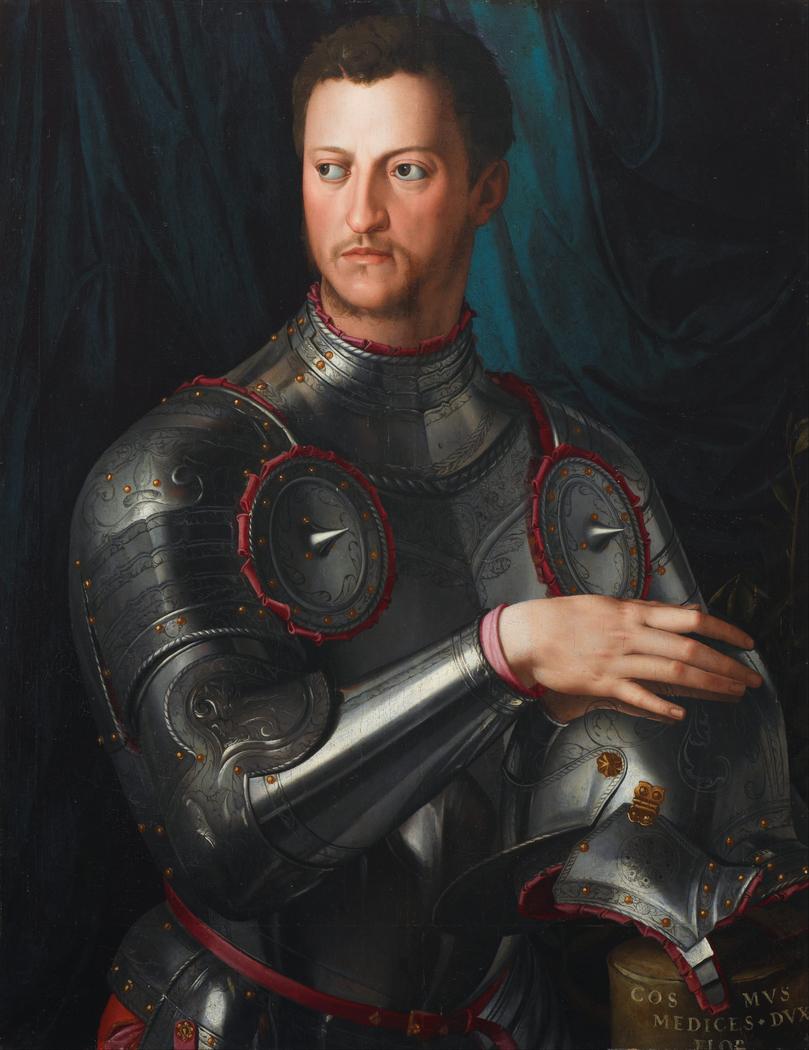 Cosimo I de' Medici in armour