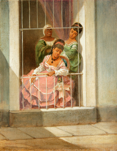 Damas en la Ventana - Ladies by the Window