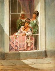 Damas en la Ventana - Ladies by the Window