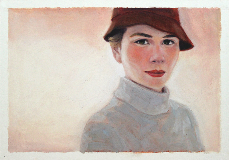 Dame mit Hut / Lady with Hat