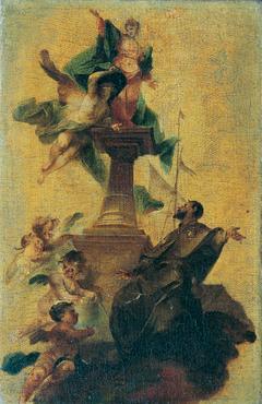 Der heilige Jacobus major und der Glaube