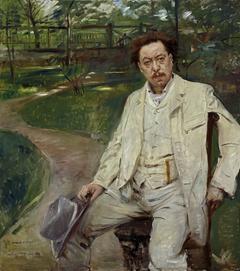 Der Pianist Conrad Ansorge