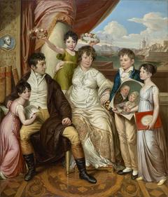 Die Familie des Großhändlers Johann Christian Edler von Bruchmann