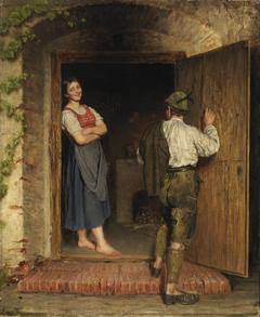 Drawing on Door