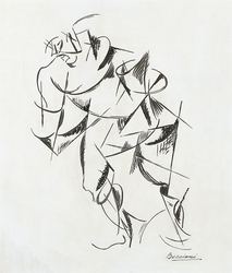 Dynamism of the Human Body: Boxer
