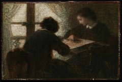 Embroiderers before a Window