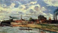 Environs de Sèvres (les fabriques Cail)