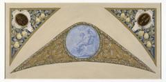 Esquisse pour l'escalier des Fêtes de l'Hôtel de Ville de Paris : Vierge