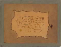 Facsimile of an Ojibbeway Robe