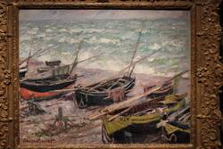Fishing Boats in Étretat