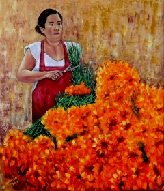 Flor de Cempasúchil / Cempasuchil Flower