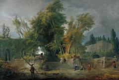 Garden of an Italian Villa