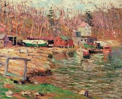 Harlem River Scene