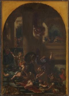 Heliodor chassé du temple