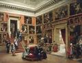 In der Dresdner Galerie