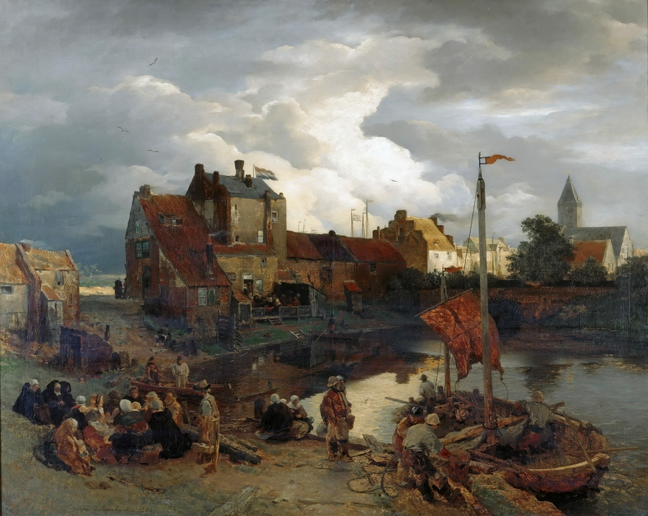 In the port of Ostend
