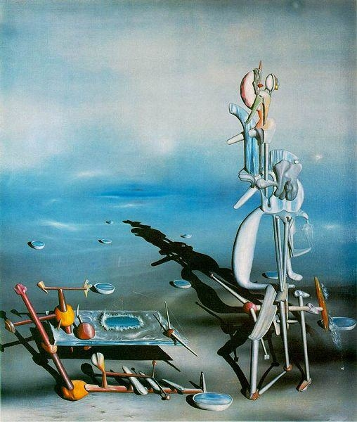 Indefinite Divisibility - Yves Tanguy surréalisme