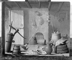 Interieur mit Küchenutensilien