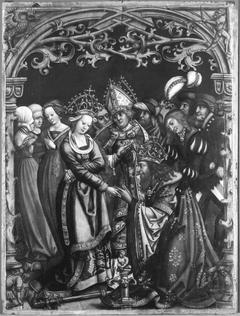 Kaiser Heinrich bittet die Kaiserin um Vergebung (Werkstatt)