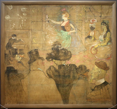 La danse mauresque by Henri de Toulouse-Lautrec