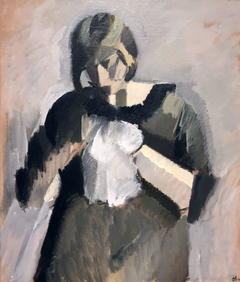 Lady with Needlework