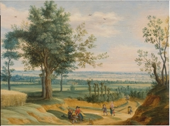 Landscape with Peasants Having a Picnic