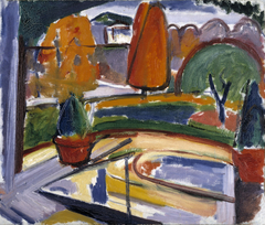 Landscape with Pond--Newman's Yard
