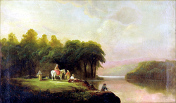 Lanscape with Figures