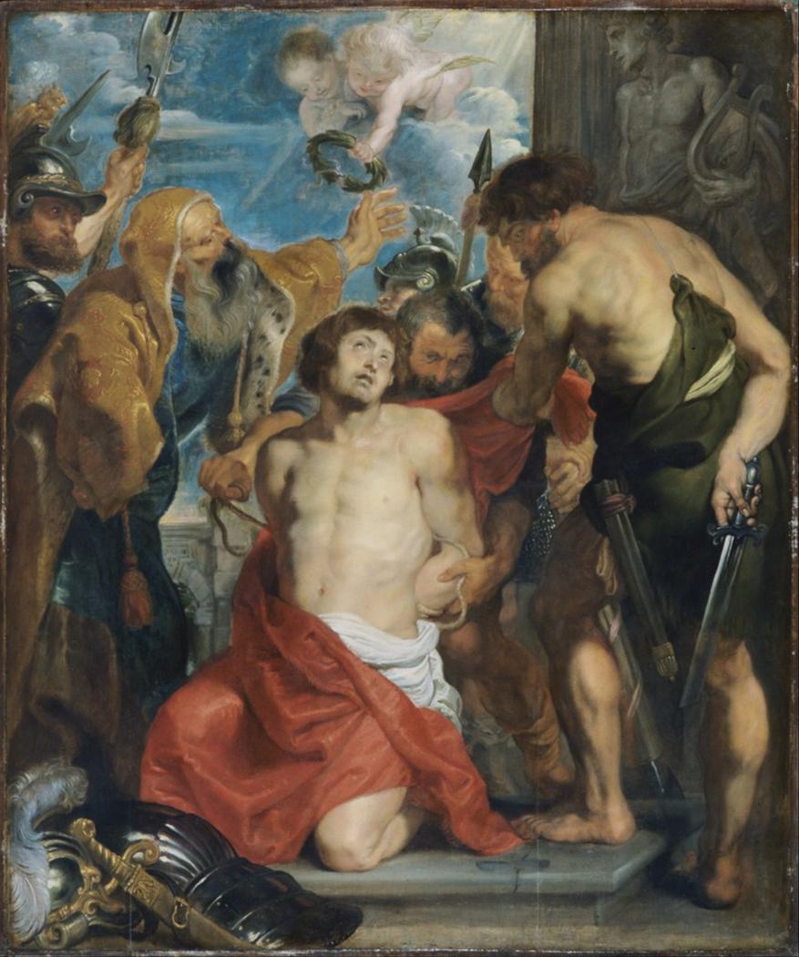 Le martyre de Saint Georges